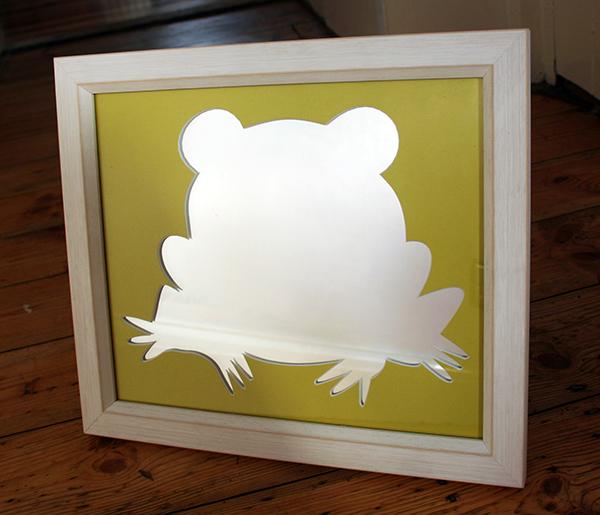 Frog mirror