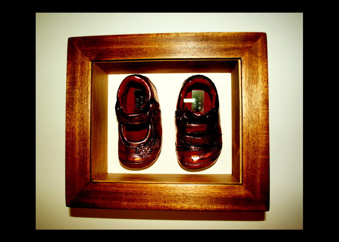 Baby Shoes Box Frame